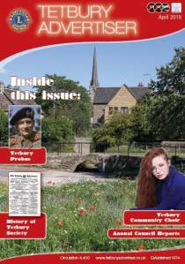 cover of the Tetbury Advertiser April 2019