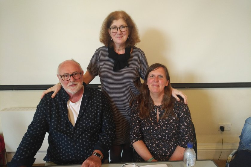 Photo of David Penny, Debbie YOung and Katharine E Smith