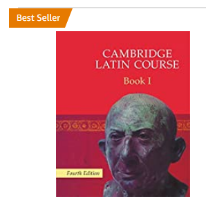 cover of first book in Cambridge Latin series showing Amazon bestseller orange flag