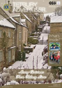 cover of December issue of Tetbury Advertiser