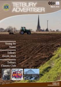 cover of March 2020 issue of the Tetbury Advertiser